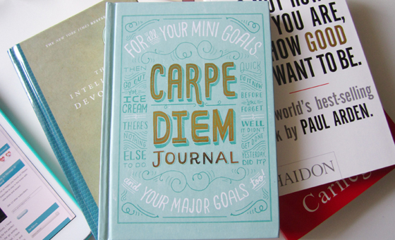 4 carpe diem journal