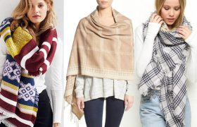 6 Blanket Scarves That Say 'Ooh! Me a Cold Baby!'