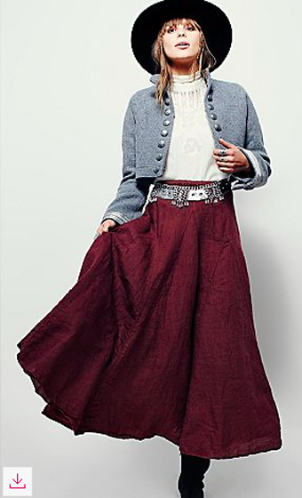 Latter to Love Skirt (Free People)