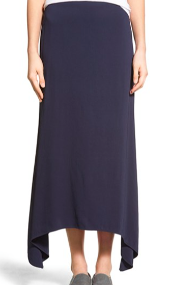Stretch Crepe Maxi Skirt (James Perse)