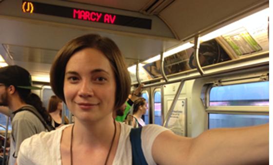 woman subway