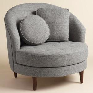 4 gray seren chair