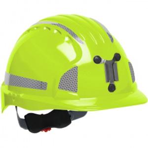 JSP Delux Reflective Mining Hard Hat - 41.75