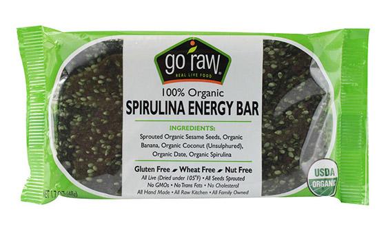 2. Go Raw Spirulina Bar