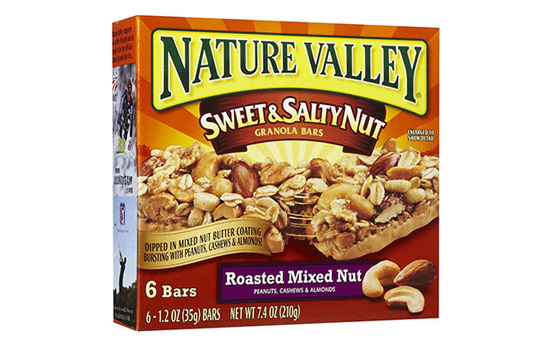 4. Nature Valley Sweet Salty