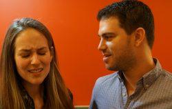 man woman upset gross couple