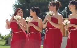 Bridesmaids prom dress