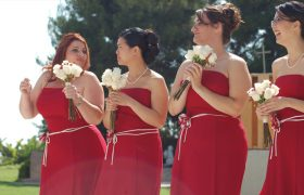 How to Not Make the Jerk-off Motion at Your Bridesmaids While Your Fiancé Reads His Vows