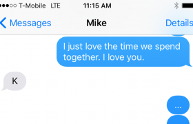 5 Heartfelt Texts That Mike Will Respond To With 'K'