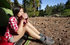 Woman Plans Camping Trip Despite Love of Being Clean and Comfortable