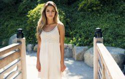 woman summer dress