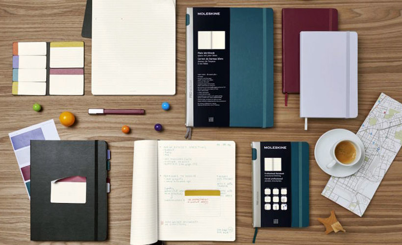 5 Moleskine Notebooks That Say, 'I'm Not Going To Be A Barista Forever'