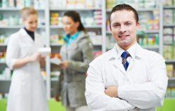 man pharmacist medicine