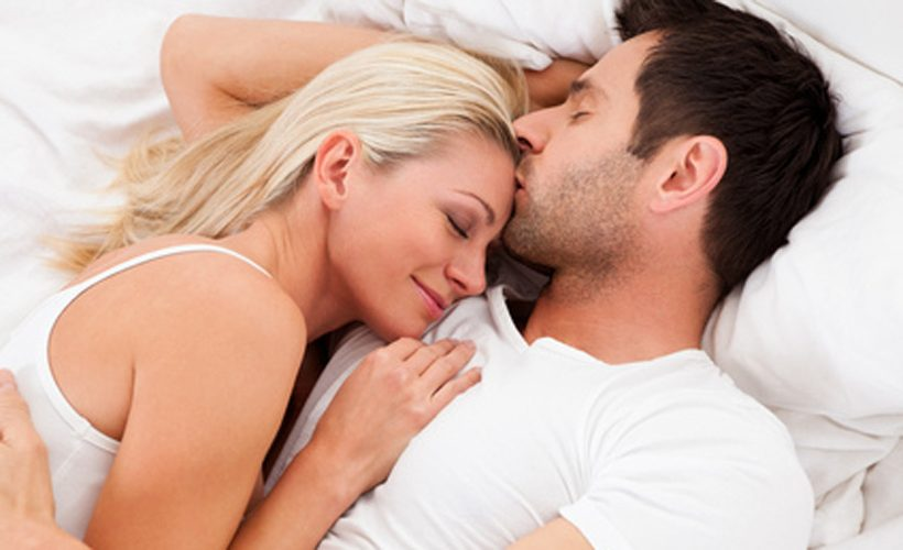 Sleeping with him with out sex