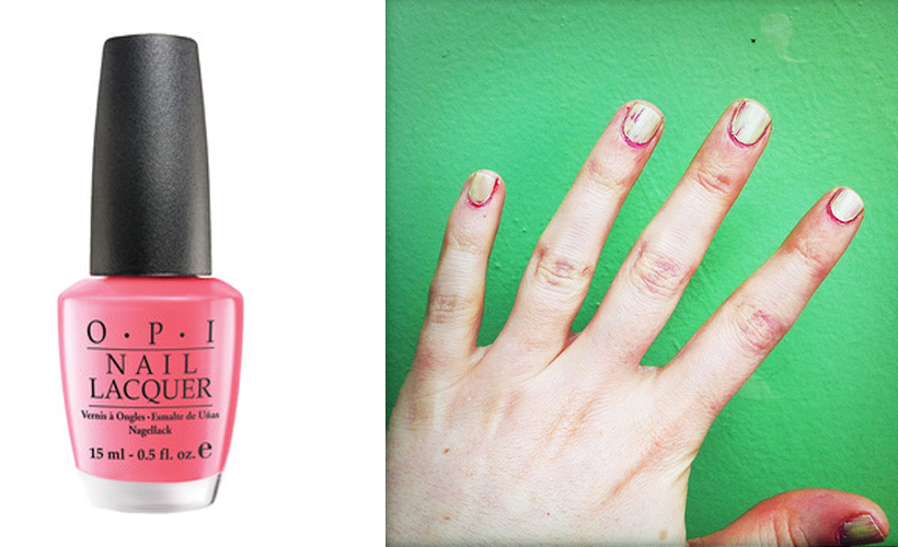 Reductress 187 6 Nail Polishes To Complement Your Bleeding