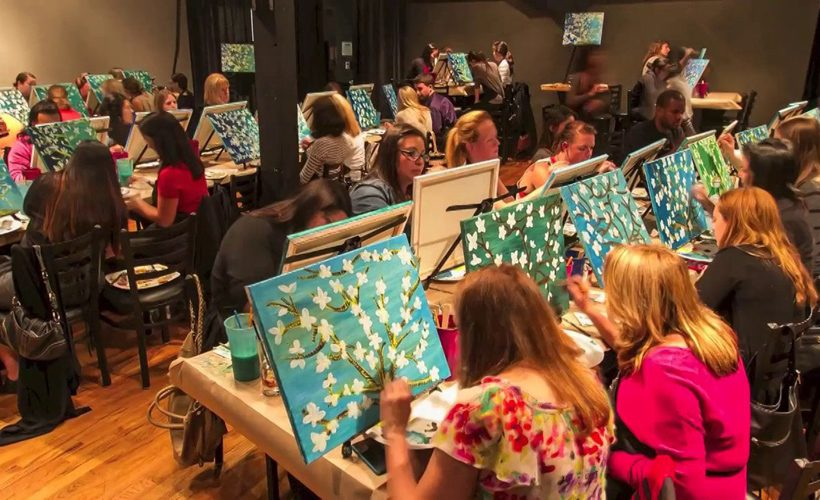 Reductress 187 Wine And Paint Night Becomes Stressful When
