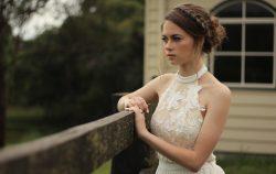 woman wedding dress