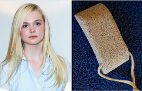 Elle Fanning Has An Amazing New Pumice Stone
