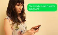 woman text