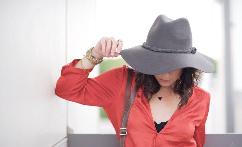 hat-woman
