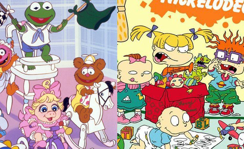 MUPPET BABIES, 1984-1991 (l to r) (top Animal, Kermit, (bottom), Gonzo, Miss Piggy, Fozzie, 1984, ©H
