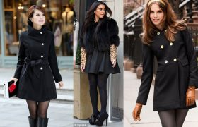 Here's Our Favorite Fall Trend And Hold On To Your Nips Because It's Coats