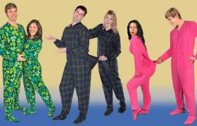 The Best Matching Footie Pajamas for You and Your Boyfriend to Announce That You No Longer Fuck