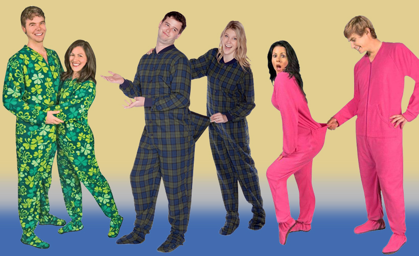 Reductress » The Best Matching Footie Pajamas for You and Your ...