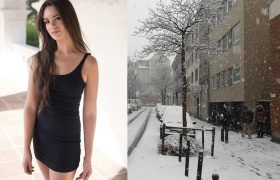 Little Black Dresses That We Shouldn't Wear Because It's Too Cold Out, Ashlee