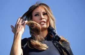 Melania Marches on White House Treadmill, Feels 'Part Of It'