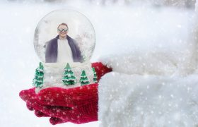 Hold Onto Your Winter Lover by Trapping Him Inside This Snow Globe