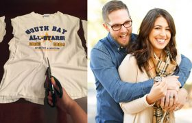 Easy Ways to Repurpose Your BF's T-Shirts Into a New Relationship