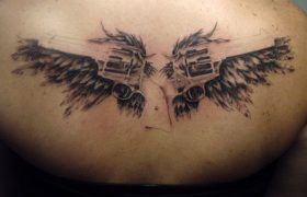 My Conservatism Doesn't Define Me, But This Tattoo Of A Gun With Angel Wings Does