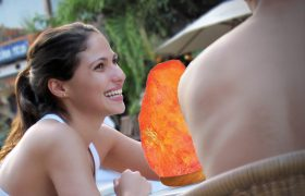 I'm Not Glowing Because I'm Pregnant, I'm Glowing Because I Ate My Salt Lamp
