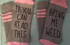 7 Weed Socks That Say, 'I Haven't Washed These In Weeks'