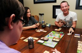 Couple Shocked That Party Guests Would Rather Talk Than Play A Game