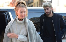 Gender Bending? Gigi Hadid Put On Zayn's Sweater Cause She Was Sooo Cold!