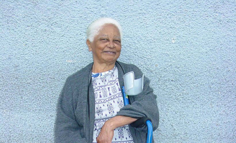 old woman lady smile elderly grandma happy