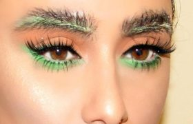 Yay! Here's Another Weird Fucking Eyebrow Trend That Looks Horrible