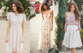 3 Lovely Lace Looks Because You're Nothing But a Doily for a Rich Person To Slosh Tea On