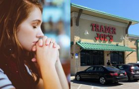 Woman Just Hoping a Damning Exposé About Trader Joe's Isn't on The Horizon