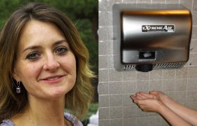Wow! This Woman Spent Six Months Drying Her Hands Completely Under an Automatic Hand Dryer