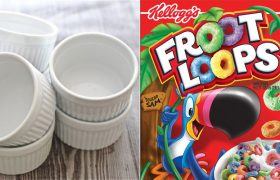 4 Elegant Porcelain Soufflé Ramekins to Eat Children's Cereal Out Of