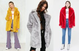 Faux Fur Coats That You'll Just Worry You Look A Little Too Extra in All Night