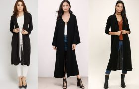 "5 Long Black Cardigans That Say ""It's LeviOsa, Not LeviosA"""