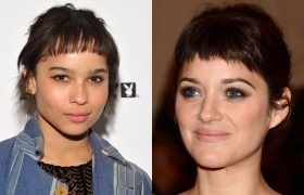 4 Baby Bangs To Make You Look Like A Feral Woman