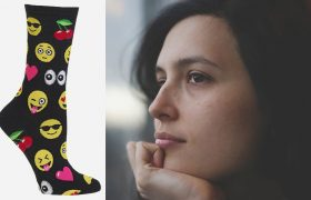 Hey, Maybe These Fun Socks Will Turn Everything Around For You