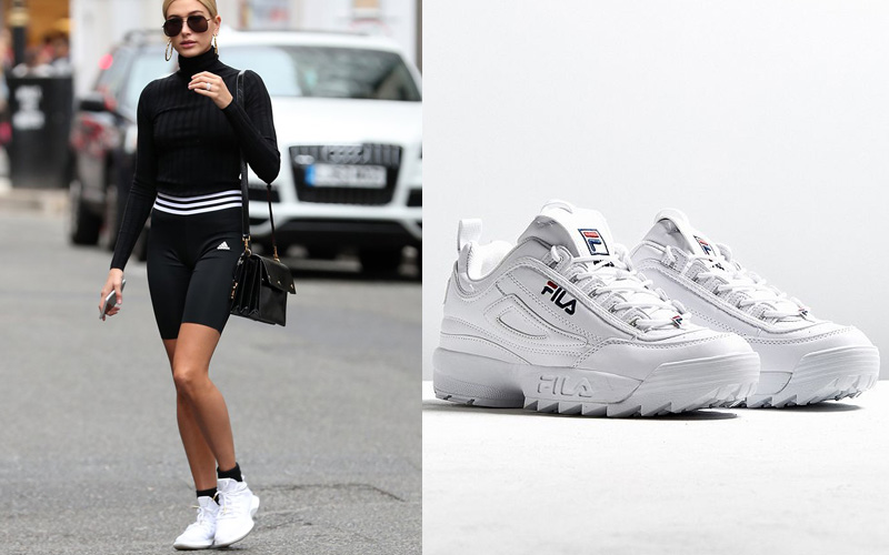 Celebrities Wearing Lacoste Shoes