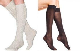 4 Knee Socks That Are Slutty Somehow Even Though They're Socks