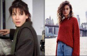 4 Sweaters That Will Make You Feel Like Sandra Bullock in 'While You Were Sleeping'